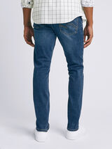 Jean slim #Tom urbanflex 4 longueurs stone
