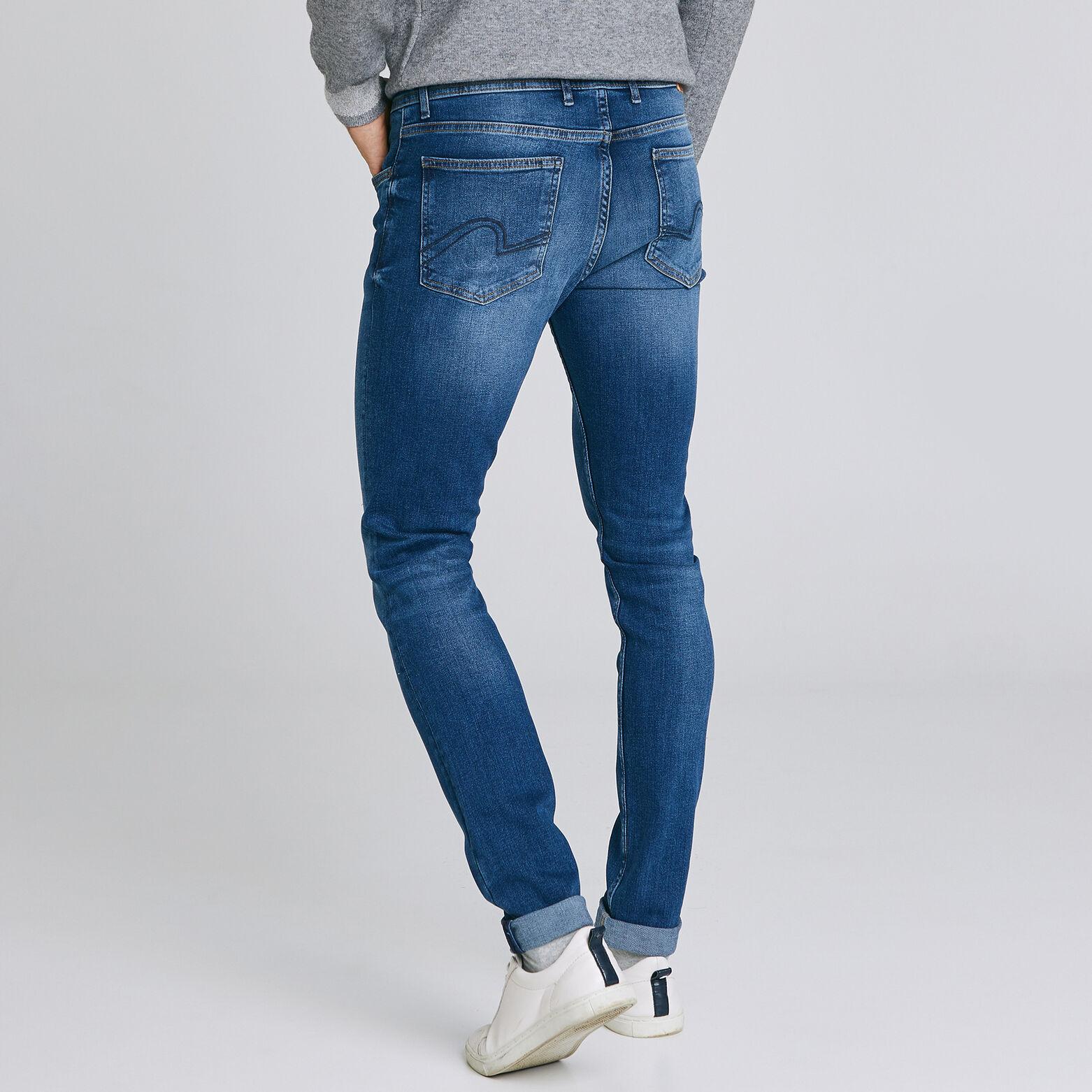 Jean skinny #Max  4 longueurs  bleu foncé
