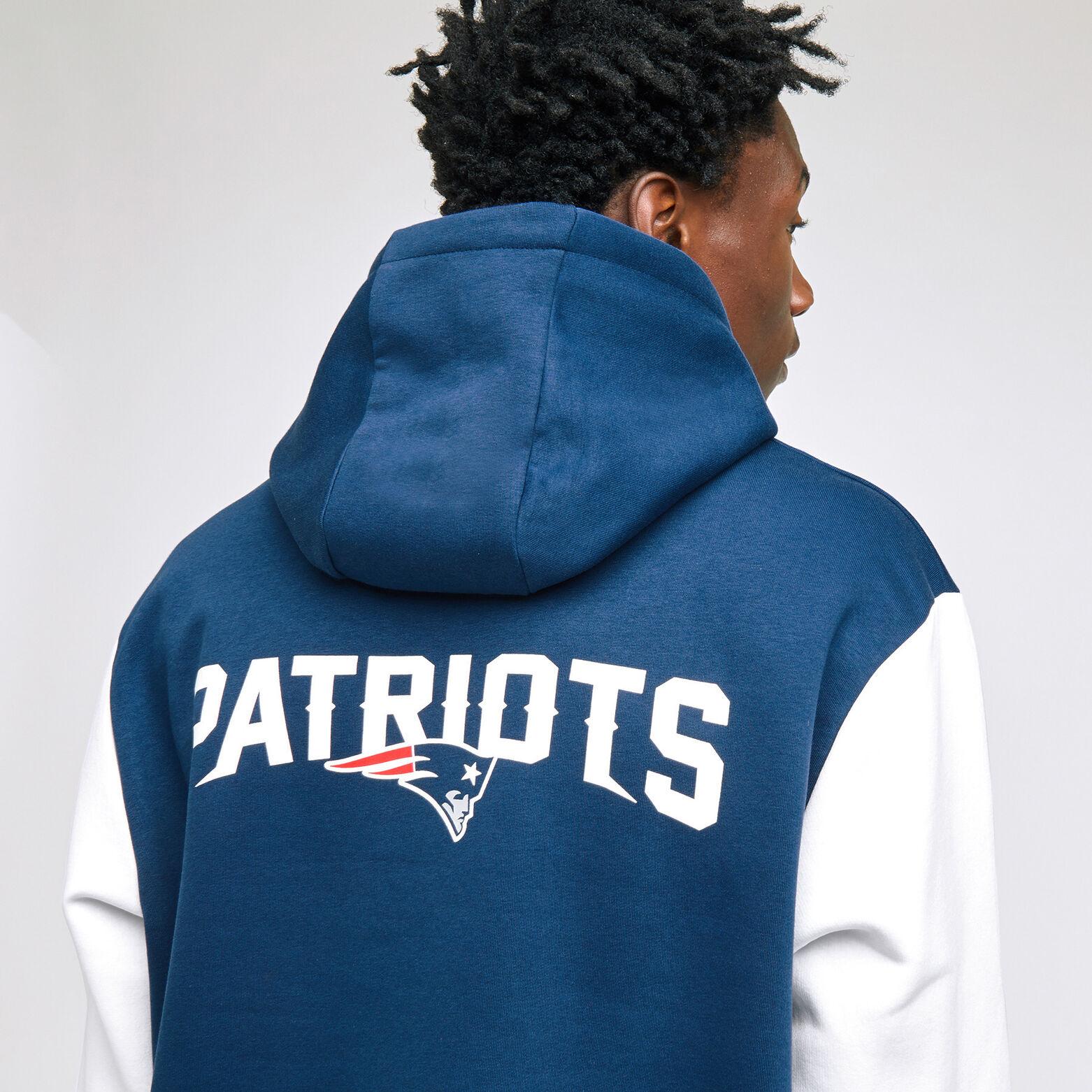 Sweat capuche Patriots sous licence NFL