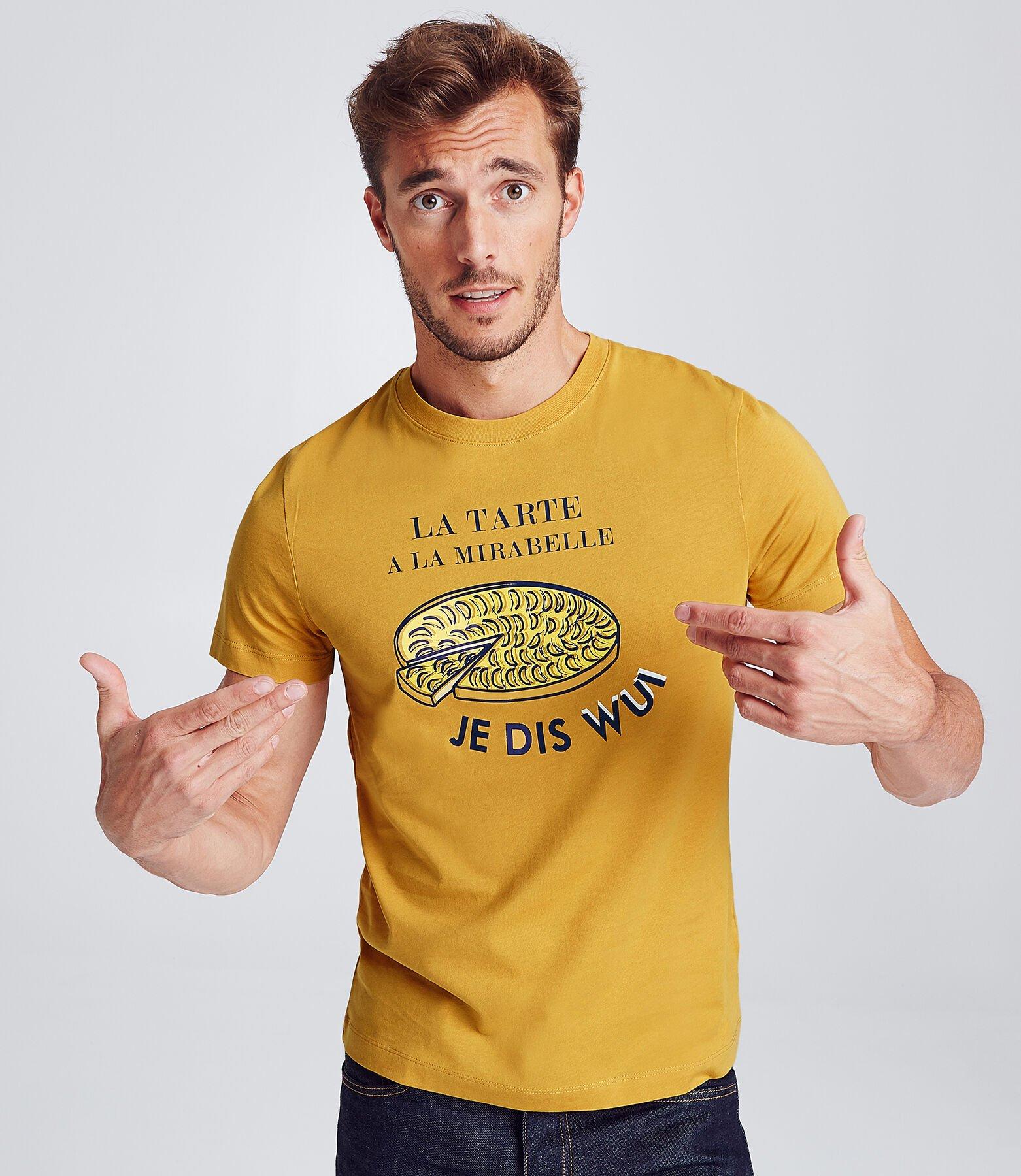 T-shirt met print van regio Lorraine
