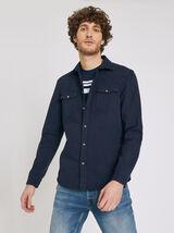 Chemise Sportswear Bleu Indigo