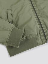 Blouson polyester capuche amovible
