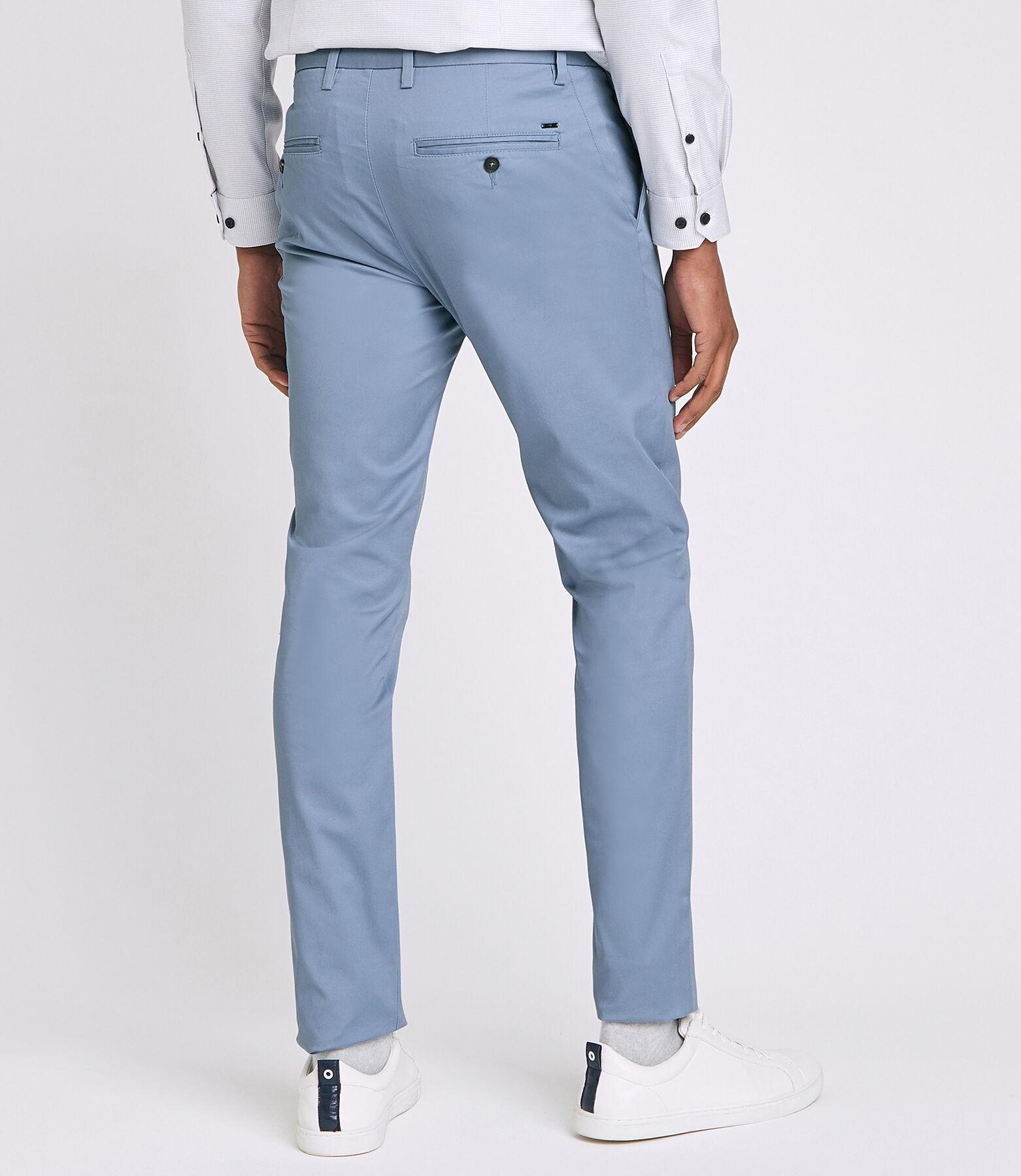 Pantalon Urbain Bleu Ciel