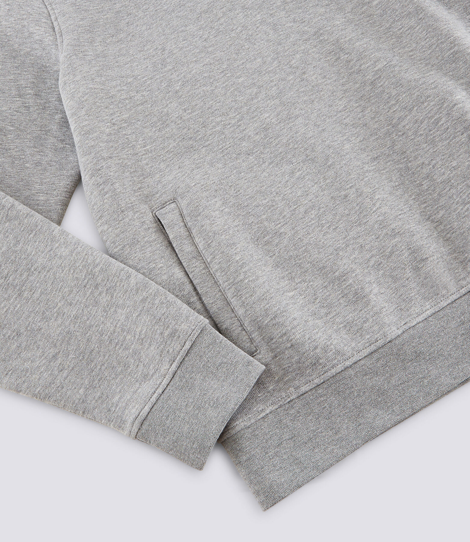Sweat zippé à capuche