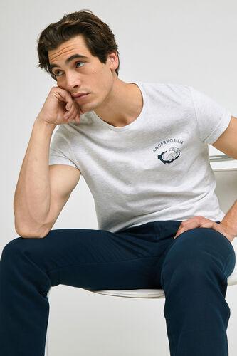 Tee-shirt imprimé station  balnéaire ANDERNOSIEN