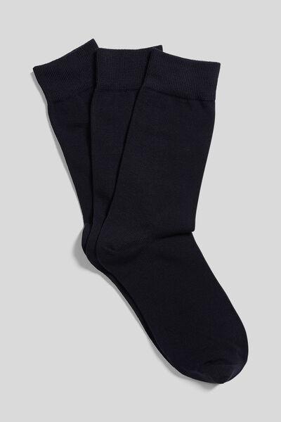 Set van 3 paar sokken in biokatoen