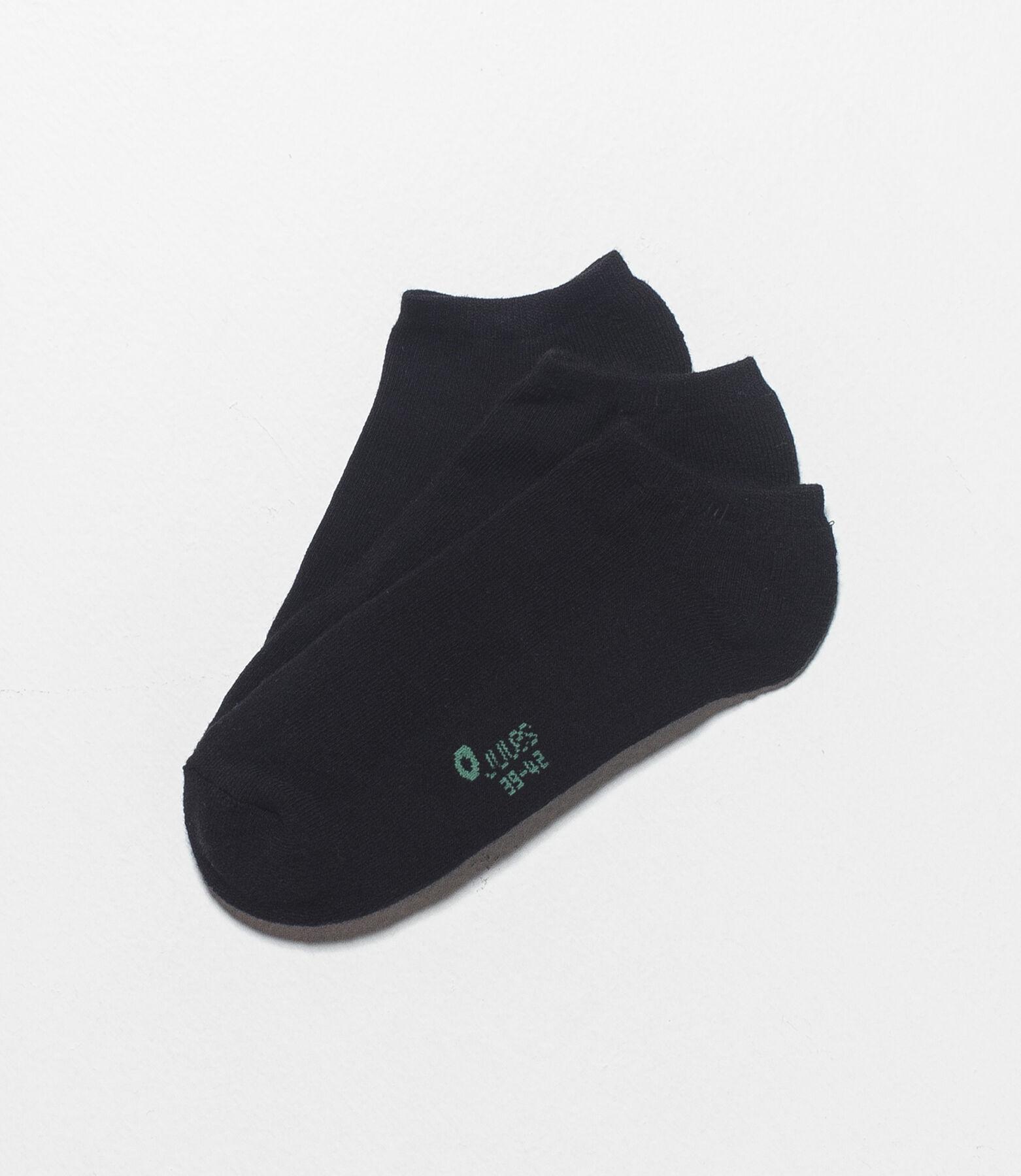 Set van 3 paar sokken in boucléstof, biokatoen