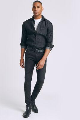 Jean Skinny noir lave