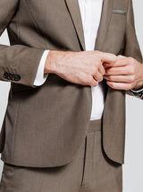 Veste de costume slim motifs jacquard
