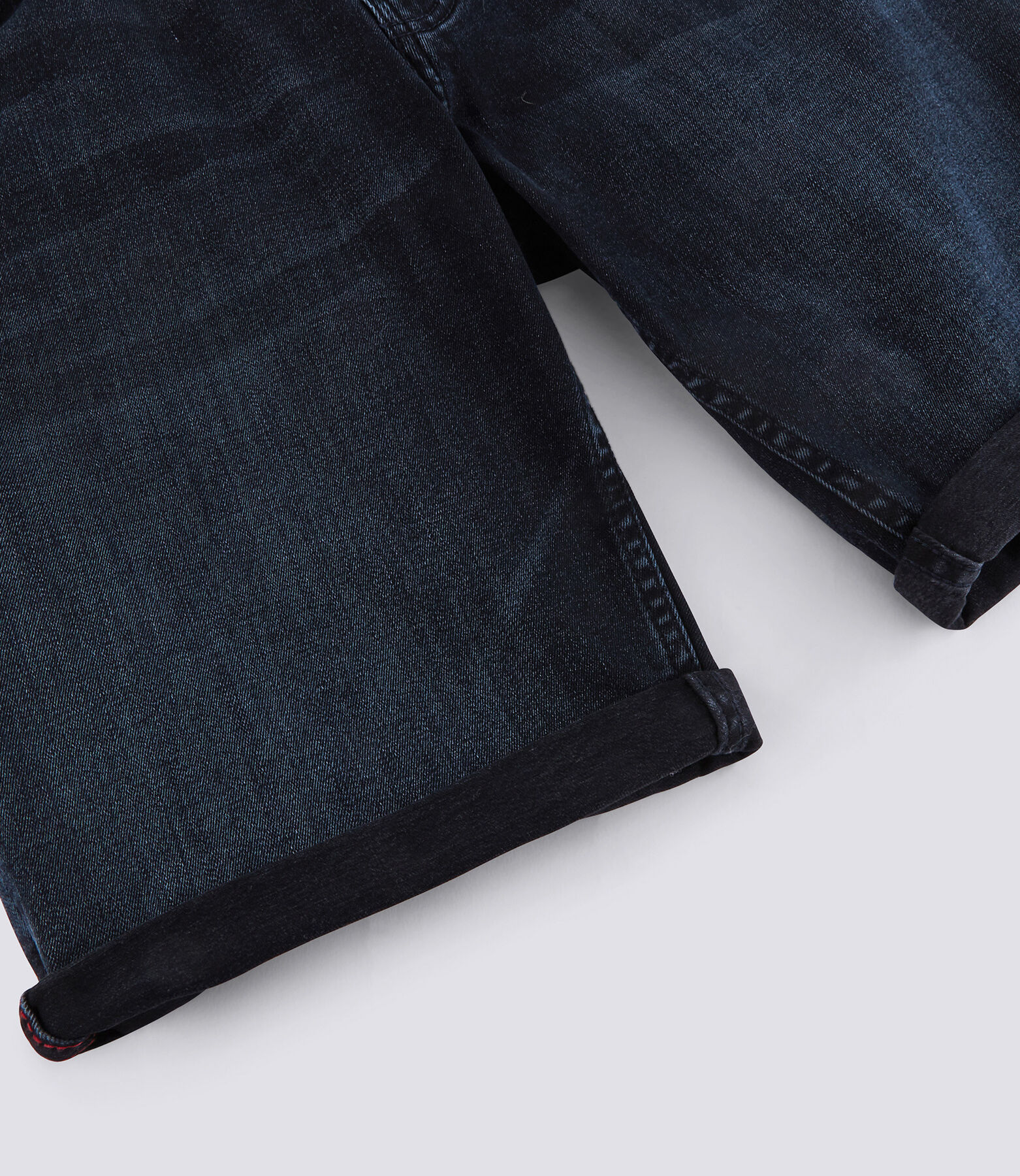 Bermuda en jean stretch Blue Back