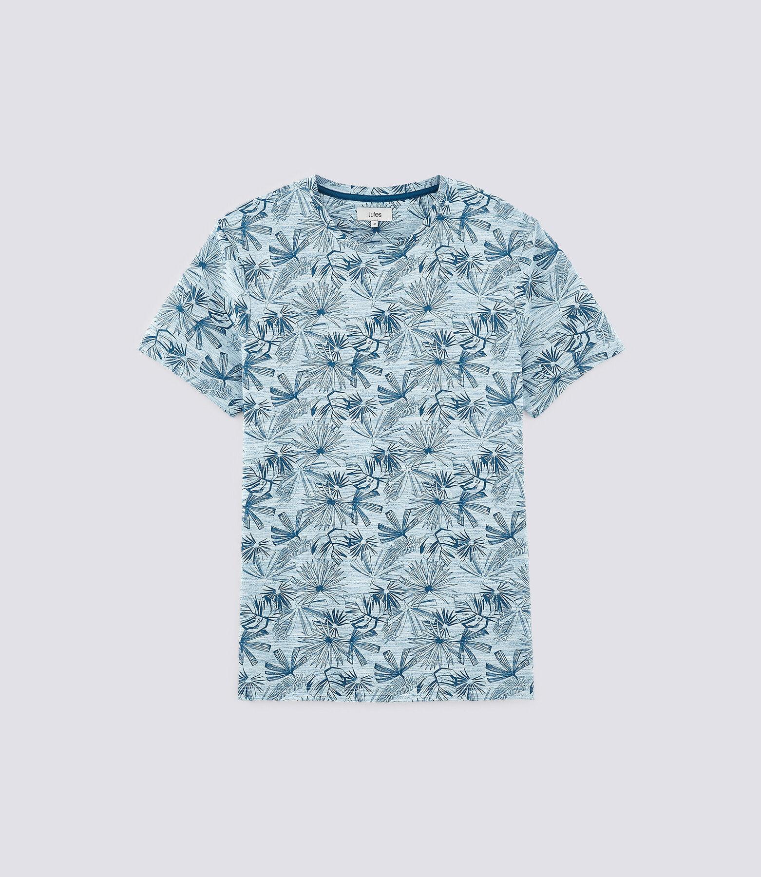 Tee shirt imprimé végétal