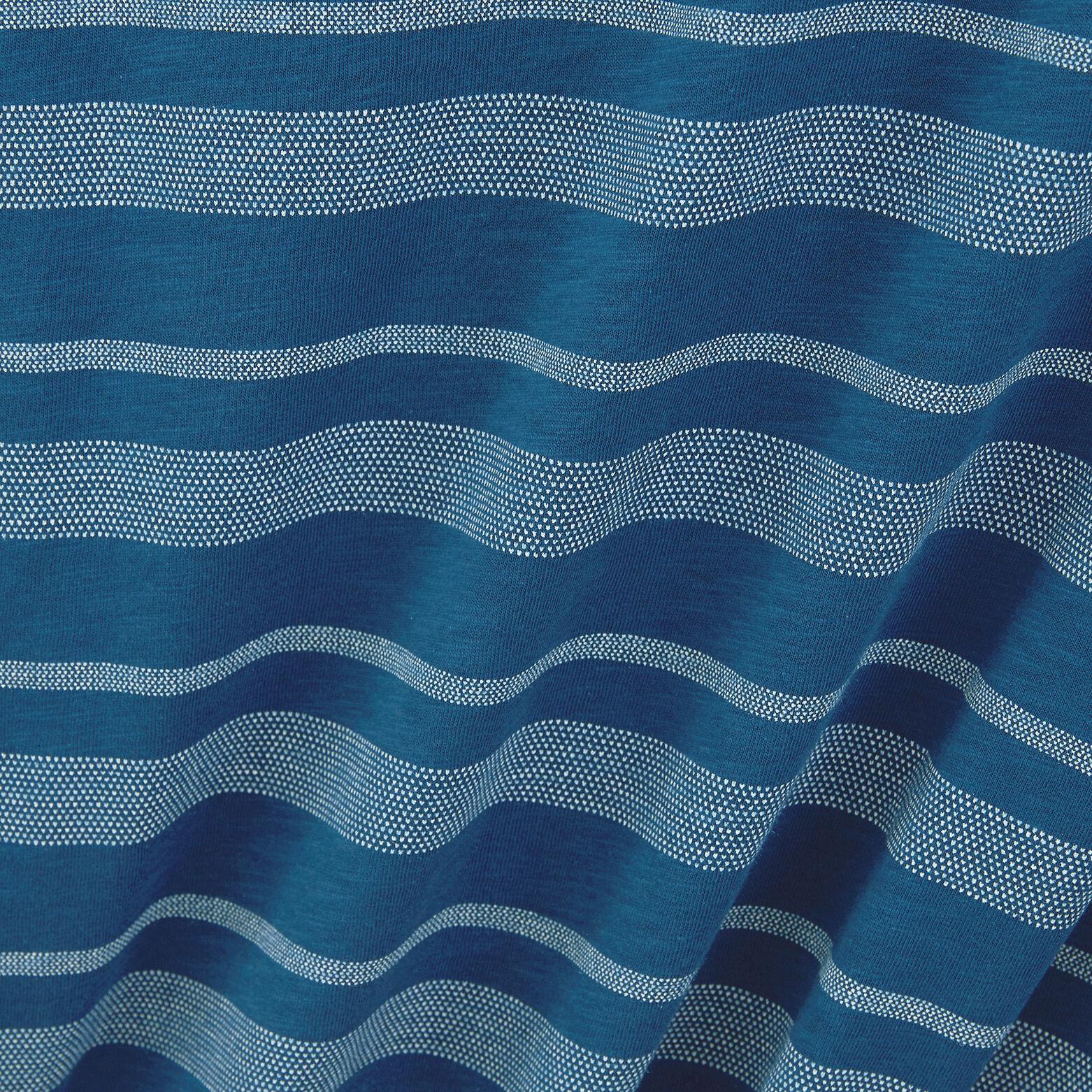 Tee-shirt print jacquard coton issu de l'agri bio