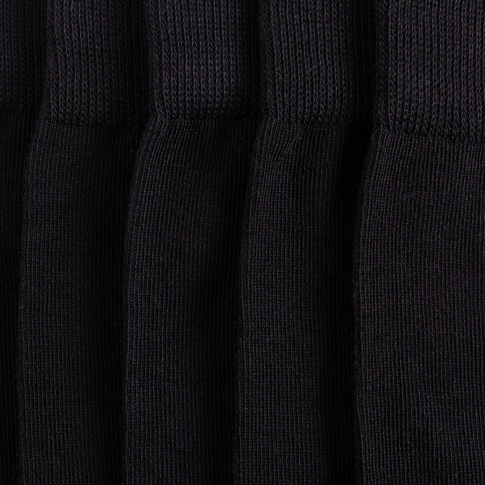 5 paires de chaussettes à talons pointes contrasté
