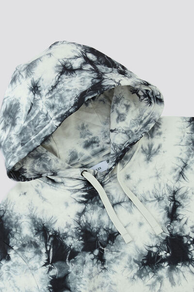 Sweat à capuche tie & dye