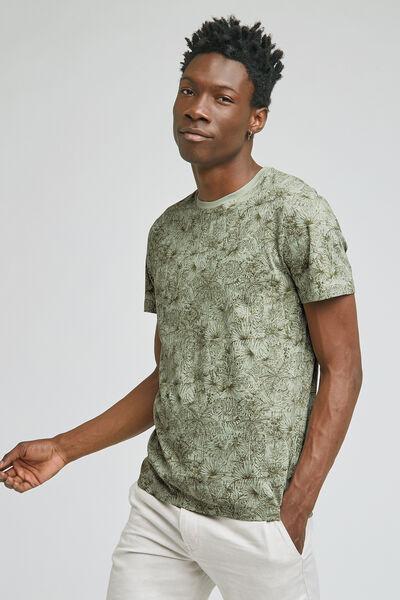 Tee-shirt imprimé tropical