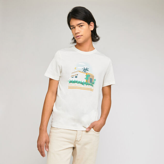 Tee-shirt imprimé devant