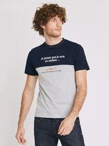 Tee shirt col rond CARAMBAR CADEAU