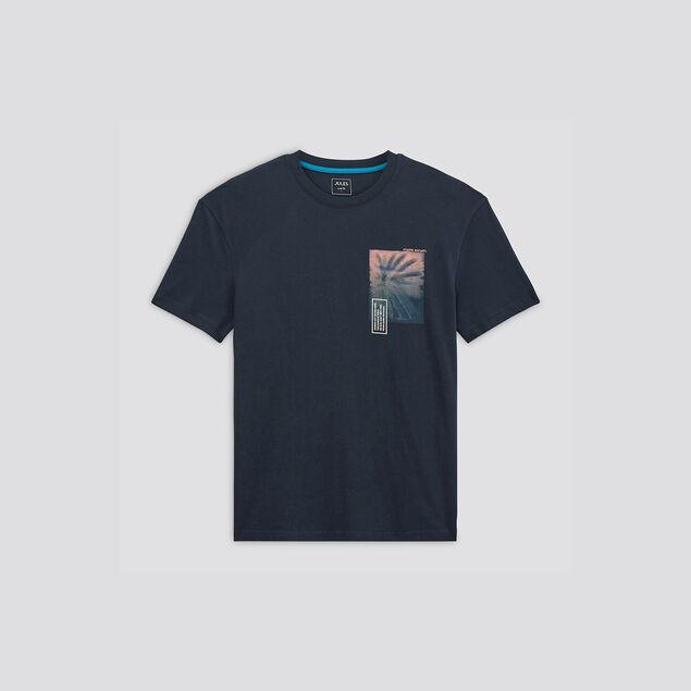 Tee-shirt print devant dos
