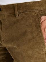 Chino coupe slim en velours