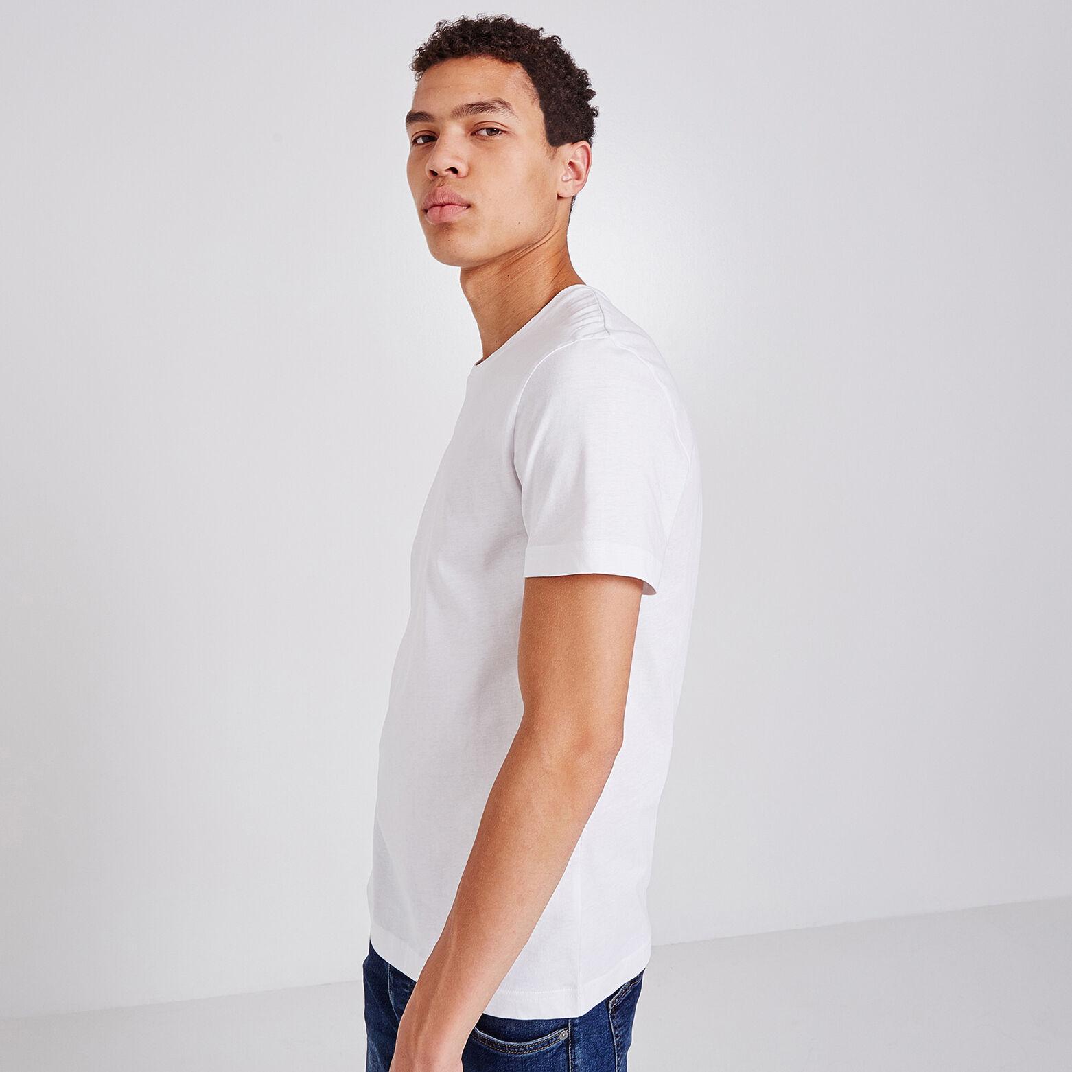 Tee-shirt uni col rond