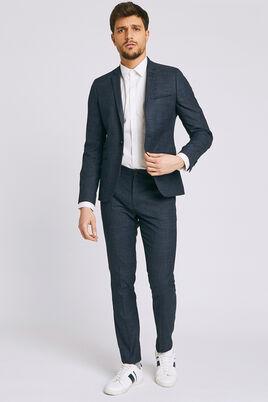 Pantalon de costume pied de puce Extra-slim
