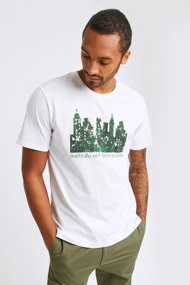 T-shirt col rond graphique