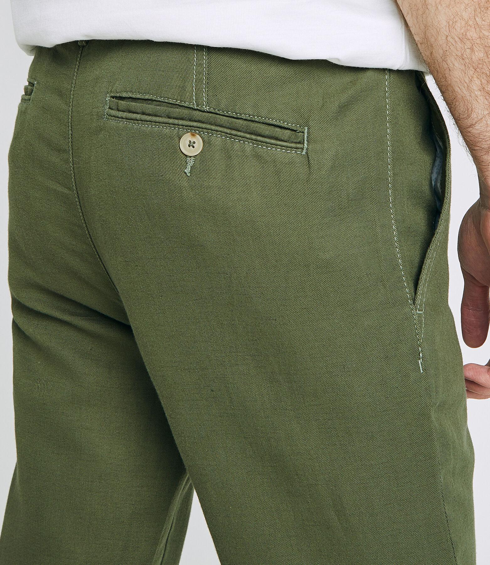 Chino coton lin