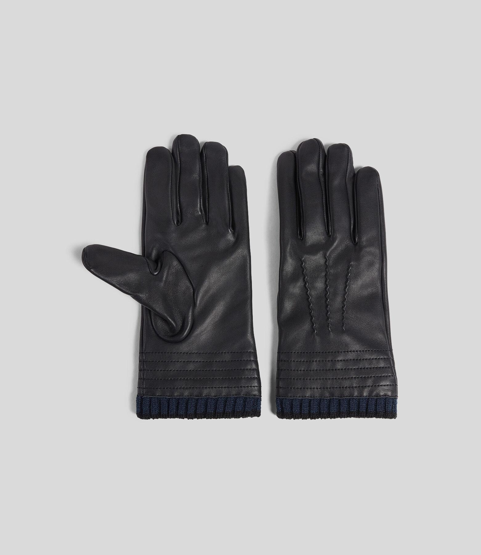 Leren handschoenen in kerstbox