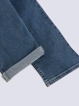 Jean straight #Ben 4 longueurs stone