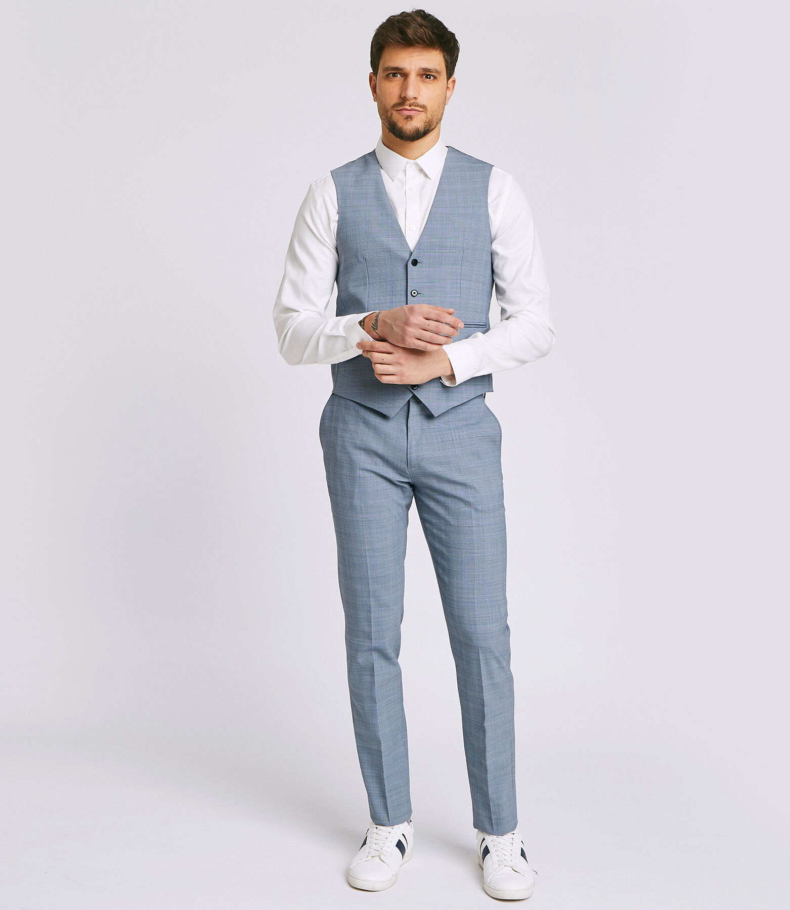 Pantalon Costume Bleu Ciel