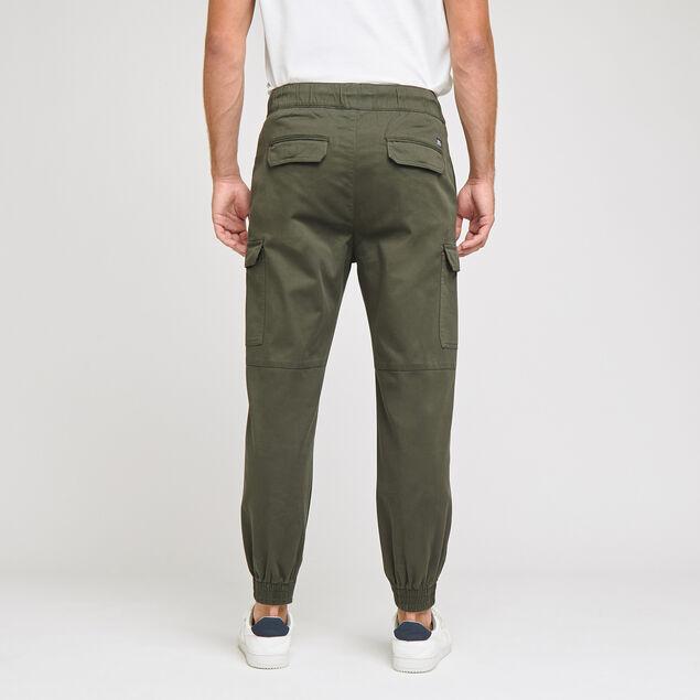 Pantalon jogger en maille