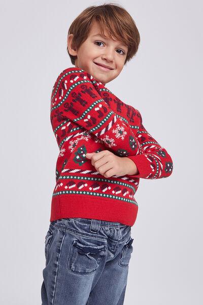 Pull de Noël enfant