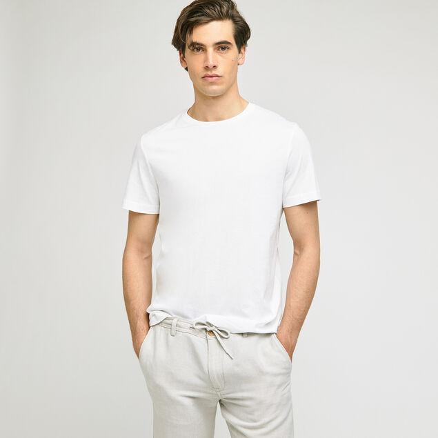 Tee-shirt basique col rond