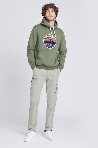 Pantalon chino cargo slim