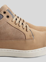 Chaussures montantes en cuir