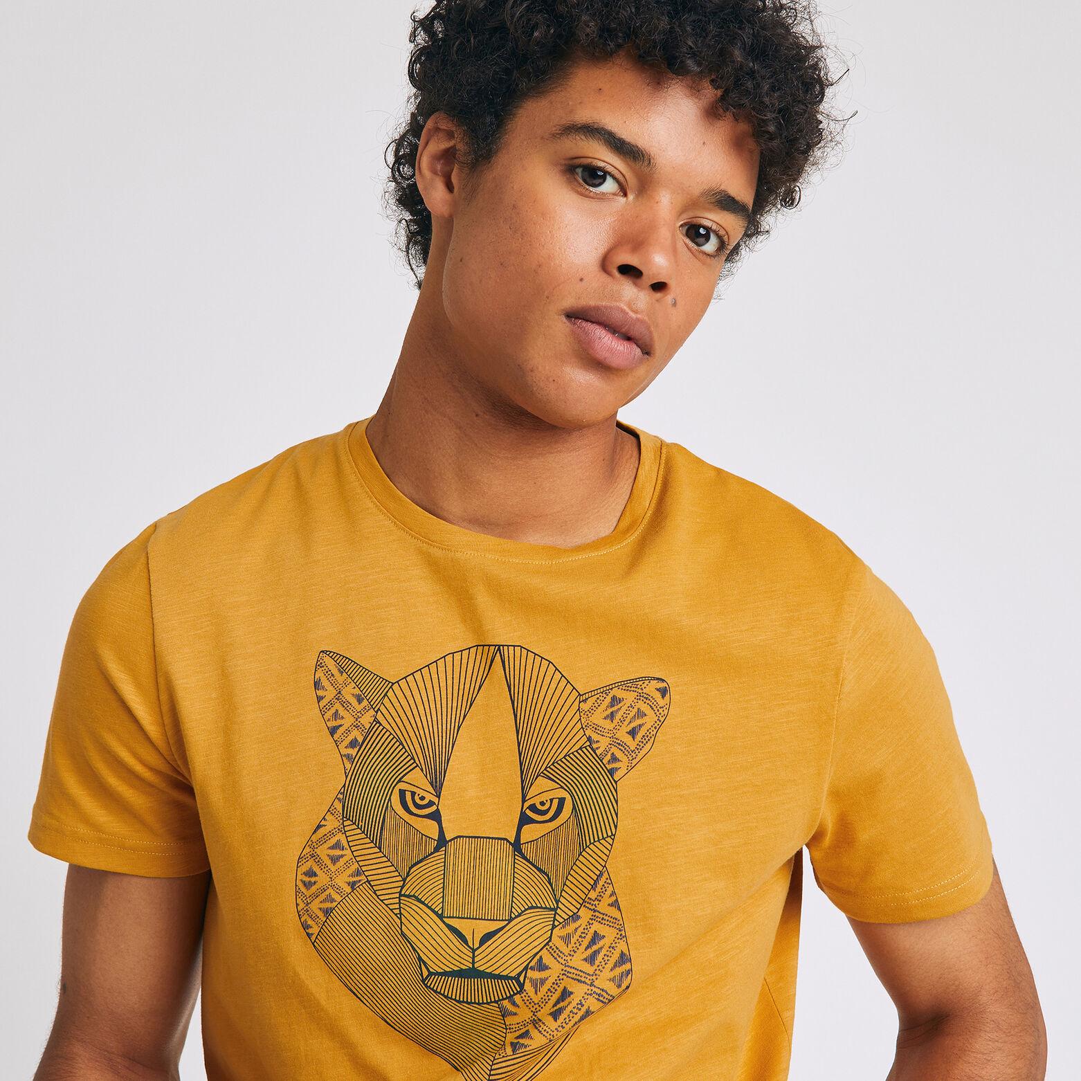 Tee-shirt avec impression animal
