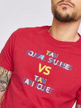 T-shirt met knipoog naar regio La Réunion