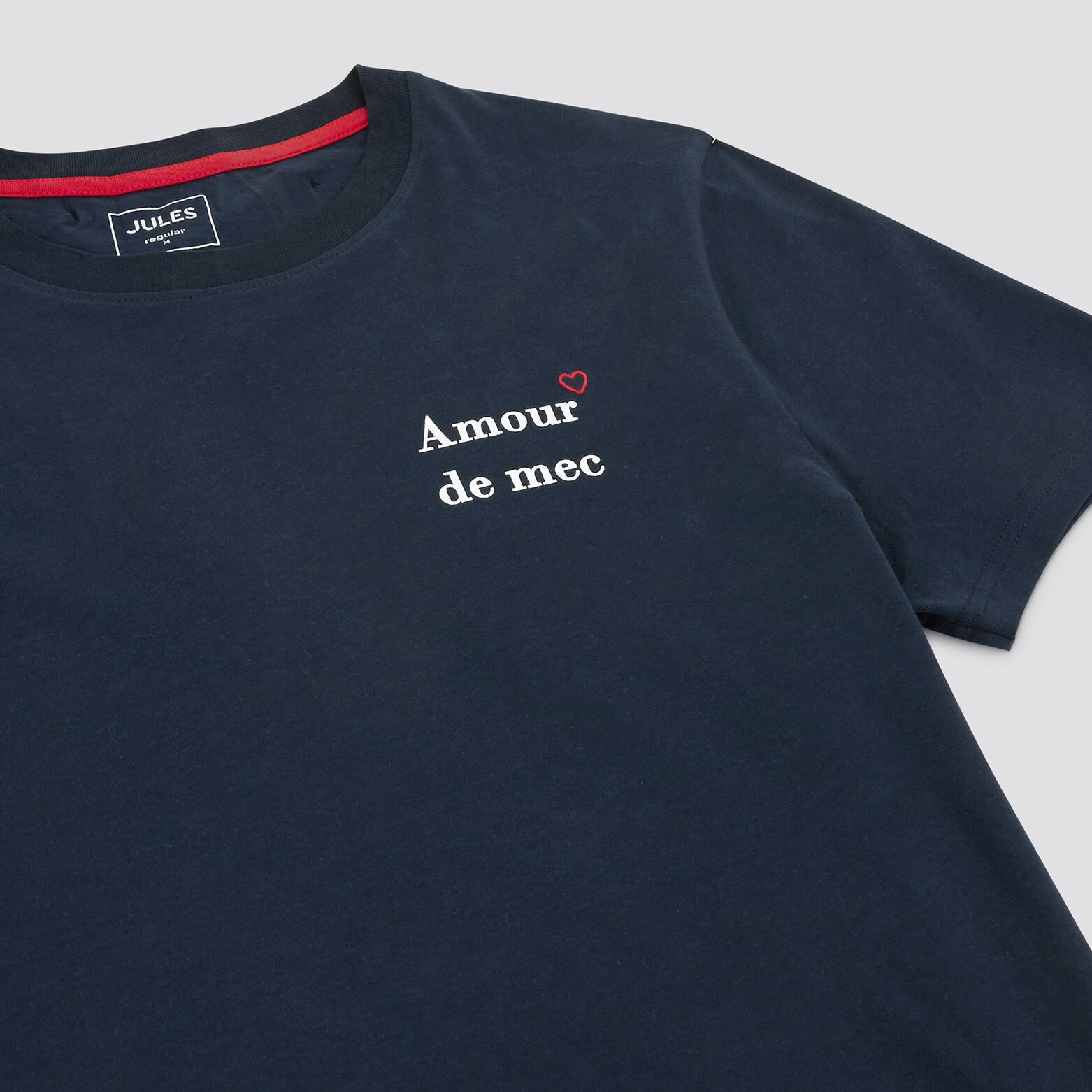 "Tee-shirt ST VALENTIN ""in progress"""