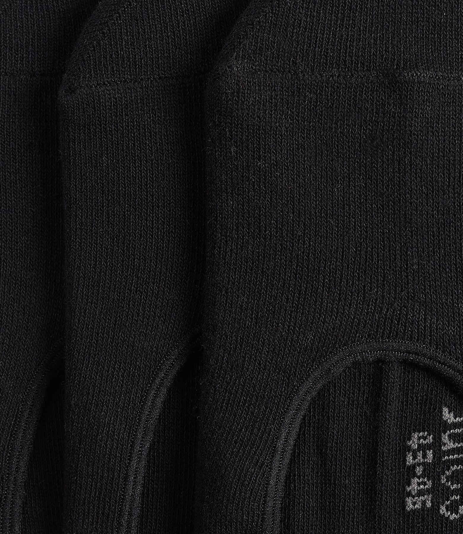 Chaussettes invisibles noires par lot de 3