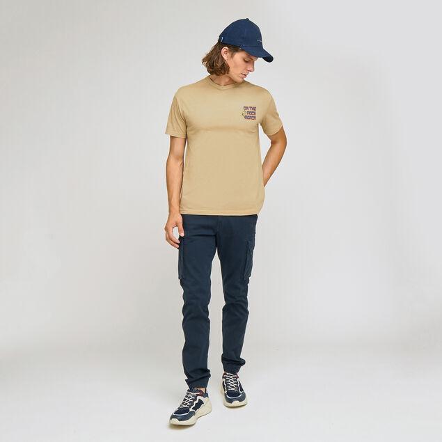 Tee-shirt COOL FIT print  poitrine devant et dos