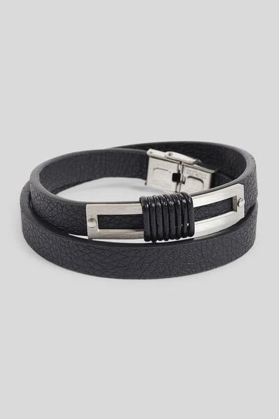 Bracelet avec détails en métal