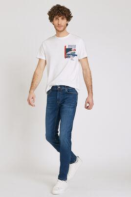 Donkerblauwe Urbanflex jeans