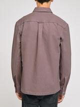 Surchemise unie effet workwear coton