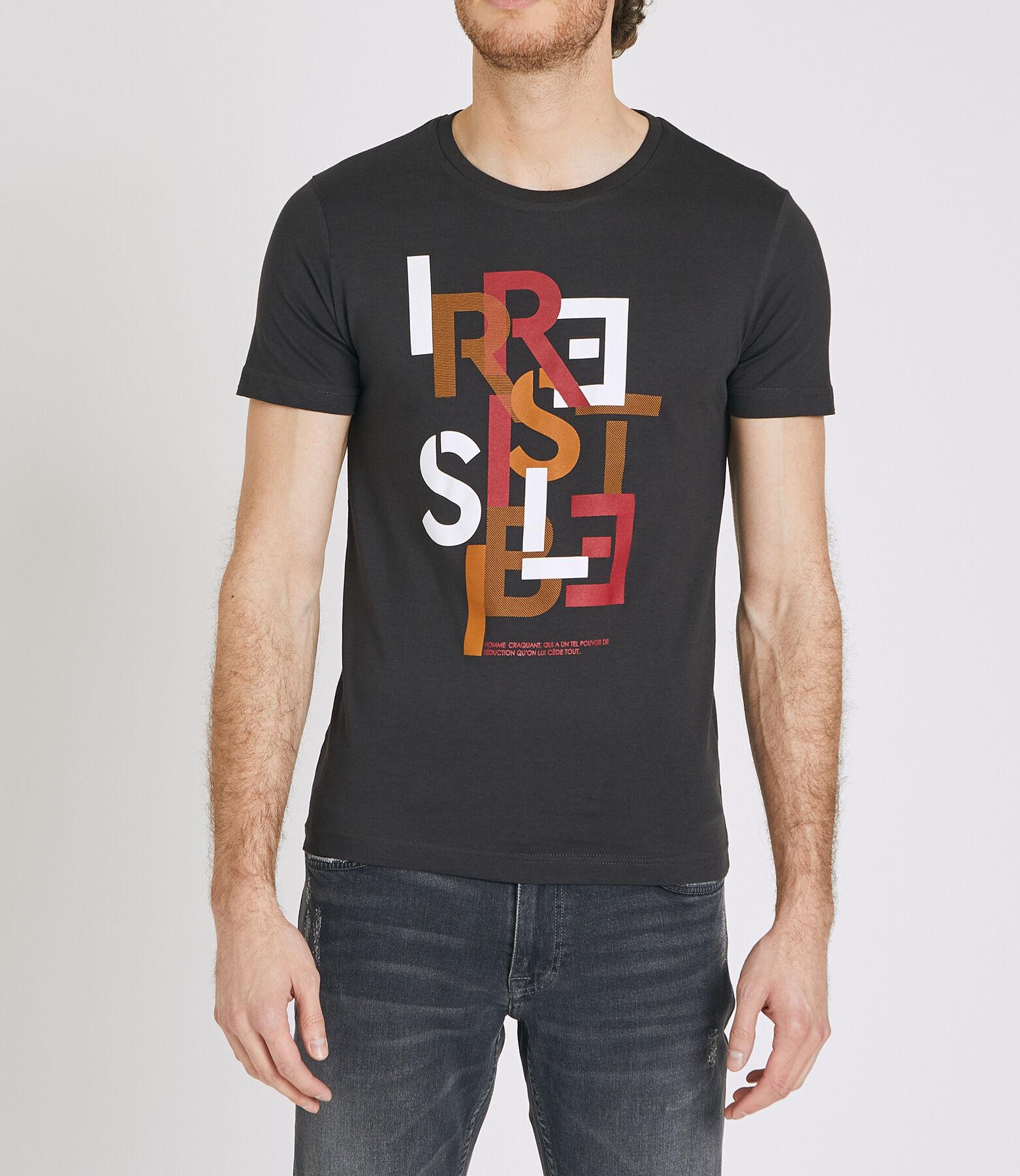 """Tee shirt imprimé """"IRRESISTIBLE"""""""