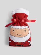 Chaussettes Santa adulte