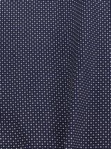 Chemise slim micro imprimé coton