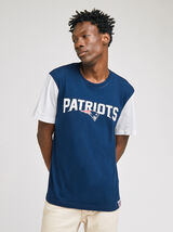 Tee shirt col rond PATRIOTS licence NFL