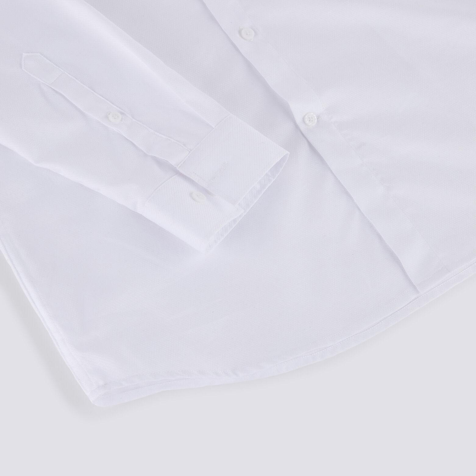 Chemise slim repassage facile Stay black/white en