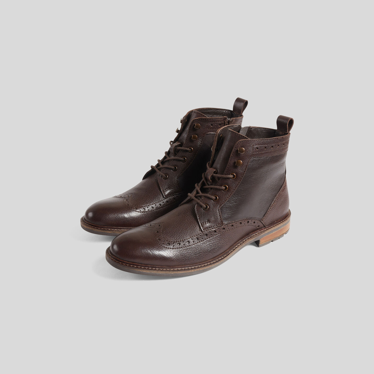Boots montantes fleuries