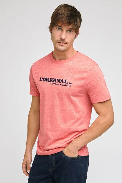 Tee-shirt fête des pères  coton issu de l'agri bio